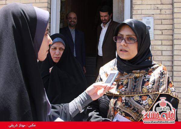 نژادی معاون رئیس جمهور-رفسنجان-خانه خشتی