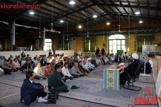 گردهمایی فرماندهان دفاع مقدس در حسینیه ثارالله رفسنجان (۳)