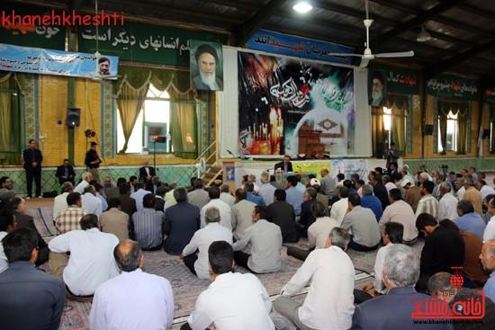 گردهمایی فرماندهان دفاع مقدس در حسینیه ثارالله رفسنجان (۵)