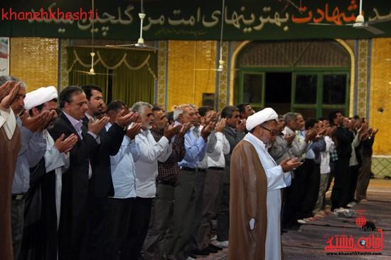 گردهمایی فرماندهان دفاع مقدس در حسینیه ثارالله رفسنجان (۸)