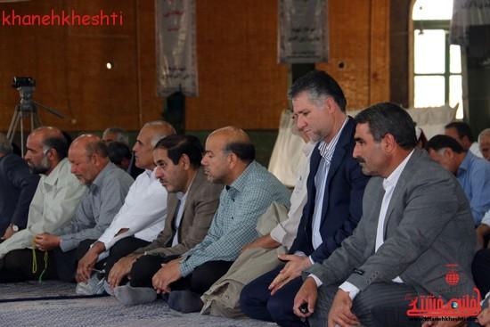 گردهمایی فرماندهان دفاع مقدس در حسینیه ثارالله رفسنجان
