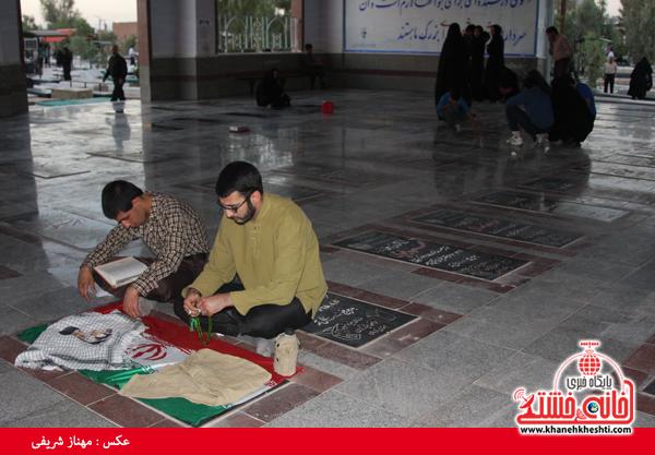 سالروز شهادت شهید مهدی عبداللهی در رفسنجان برگزار شد + عکس