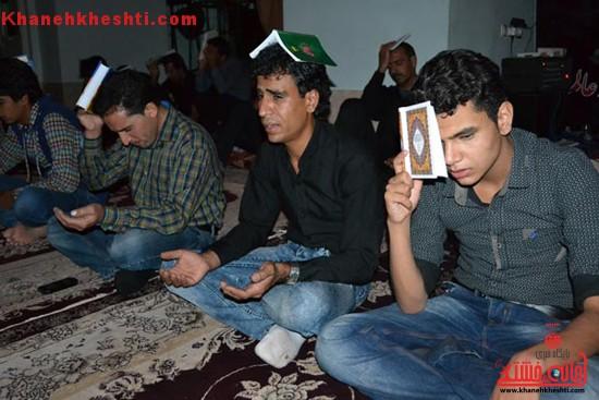 گزارش تصویری شب قدر در هیات عاشقان بقیع روستای هرمزآباد
