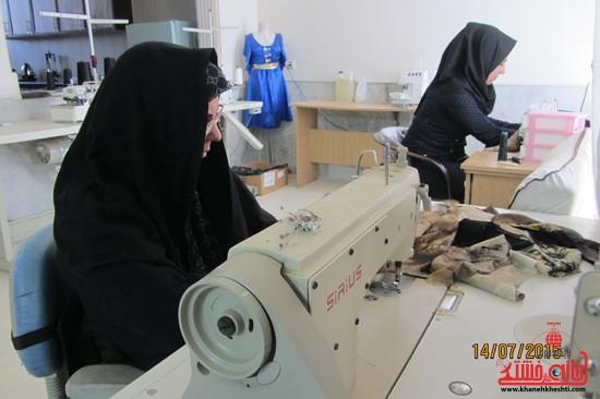تولیدکنندگان پوشاک رفسنجان در انتظار حمایت مسئولان