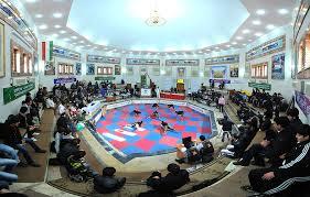 رفسنجان نائب قهرمان مسابقات ورزش های پهلوانی و زورخانه ای استان کرمان