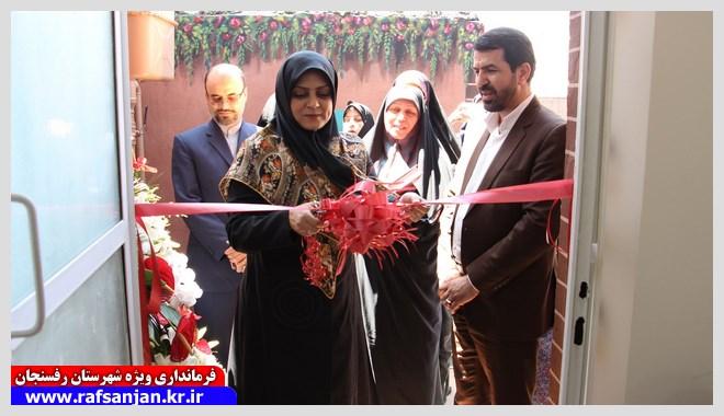 دفتر امور بانوان و خانواده شهرستان رفسنجان راه اندازی شد+عکس