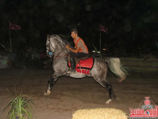اختتامیه شو اسب سواره صفائیه-رفسنجان-خانه خشتی (۱۵)