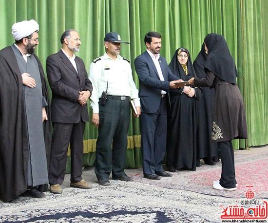 از بانوان ورزشکار رفسنجانی تجلیل شد + عکس