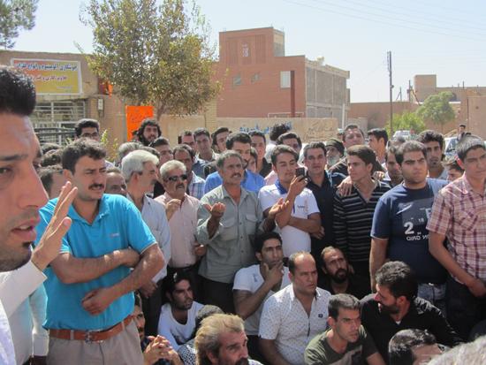 تجمعات دنباله دار معترضین حضور اتباع بیگانه غیرمجاز در رفسنجان / تصاویر