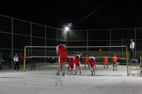 دوربین خانه خشتی در مسابقات والیبال جام یاد بود محمد رضا خدارحمی اسلام آباد