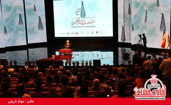 دوربین خانه خشتی در اختتامیه جشنواره فرهنگی اقتصادی کرمان