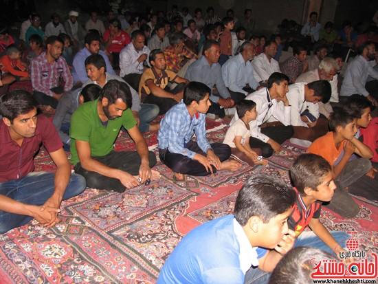 جشن میلاد امام رضا(ع) در مسجد ابوالفضل شهر صفائیه-خانه خشتی (۲)