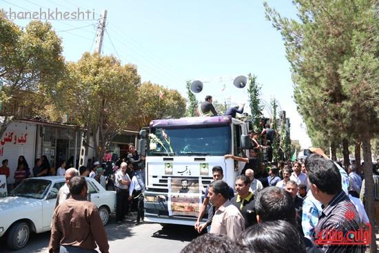 خاکسپاری شهید آخوندی-رفسنجان-خانه خشتی (۱۱)