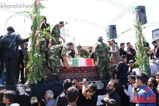 خاکسپاری شهید آخوندی-رفسنجان-خانه خشتی (۱۳)