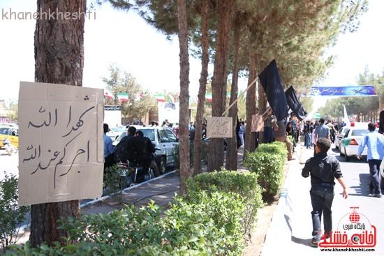 خاکسپاری شهید آخوندی-رفسنجان-خانه خشتی (۱۵)