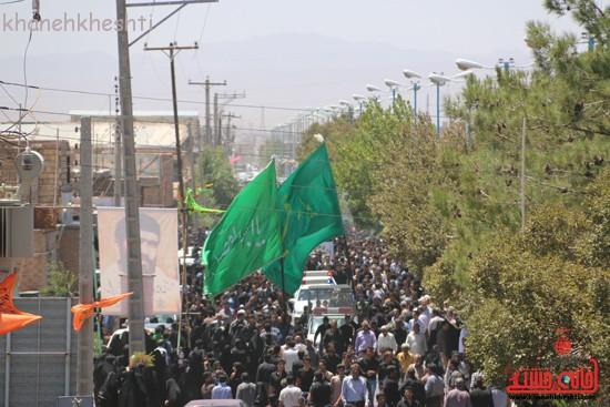 خاکسپاری شهید آخوندی-رفسنجان-خانه خشتی (۲۰)