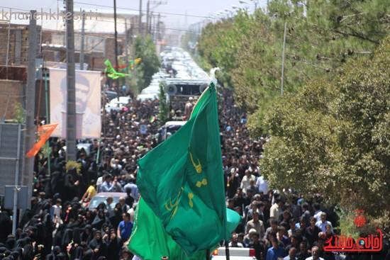 خاکسپاری شهید آخوندی-رفسنجان-خانه خشتی (۲۱)