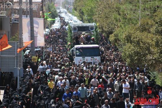 خاکسپاری شهید آخوندی-رفسنجان-خانه خشتی (۲۲)