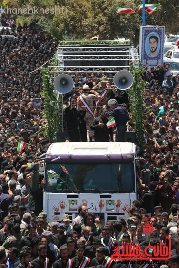 خاکسپاری شهید آخوندی-رفسنجان-خانه خشتی (۲۴)