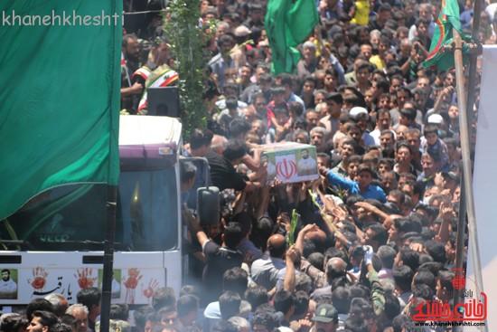 خاکسپاری شهید آخوندی-رفسنجان-خانه خشتی (۲۵)