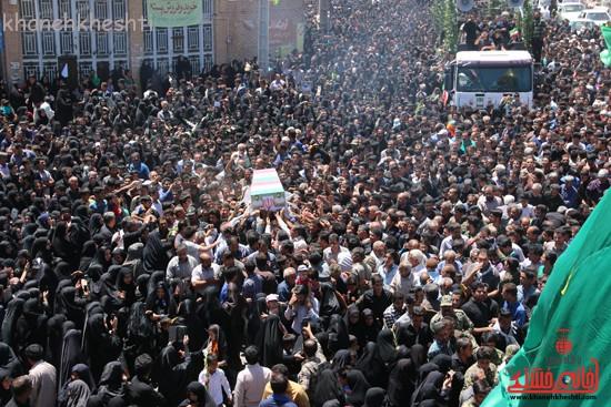 خاکسپاری شهید آخوندی-رفسنجان-خانه خشتی (۲۶)