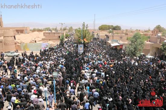 خاکسپاری شهید آخوندی-رفسنجان-خانه خشتی (۲۷)