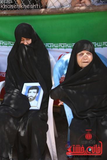 خاکسپاری شهید آخوندی-رفسنجان-خانه خشتی (۴)