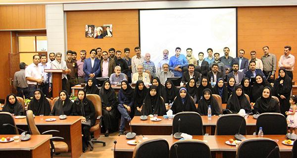 خبرنگاران رفسنجان در یک قاب