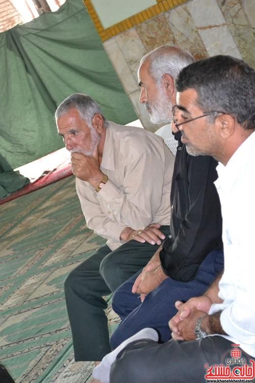 دوربین خانه خشتی در اولین گردهمایی ایثارگران هرمزآباد  (۱)