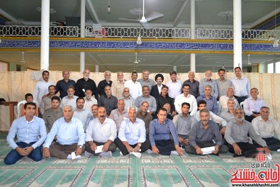 دوربین خانه خشتی در اولین گردهمایی ایثارگران هرمزآباد  (۷)
