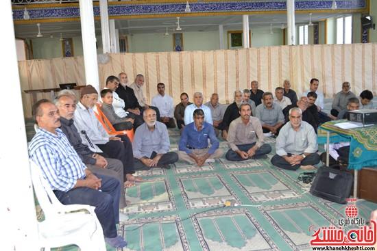 دوربین خانه خشتی در اولین گردهمایی ایثارگران هرمزآباد  (۸)