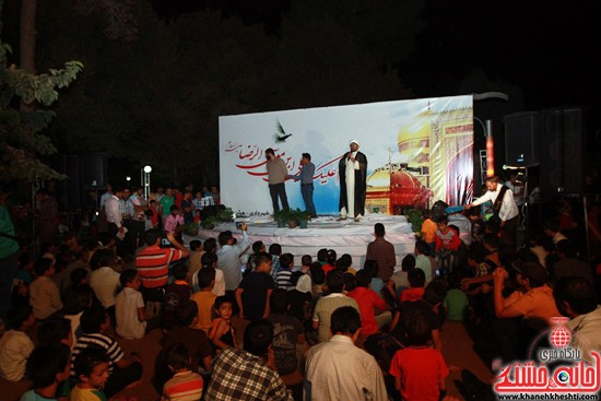 دوربین خانه خشتی در جشن میلاد امام رضا (ع) در رفسنجان (۱)