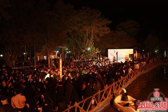 دوربین خانه خشتی در جشن میلاد امام رضا (ع) در رفسنجان (۶)