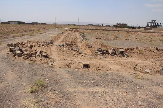 رفع تصرف-اداره راه و شهرسازی رفسنجان-خانه خشتی (۱)