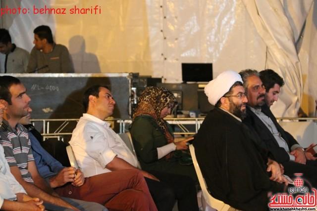 شب فرهنگی هنری رفسنجان_برج  میلاد_جشنواره کرمان_ (۱)