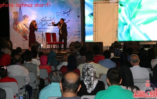 شب فرهنگی هنری رفسنجان پایان بخش جشنواره فرهنگی اقتصادی کرمان + عکس
