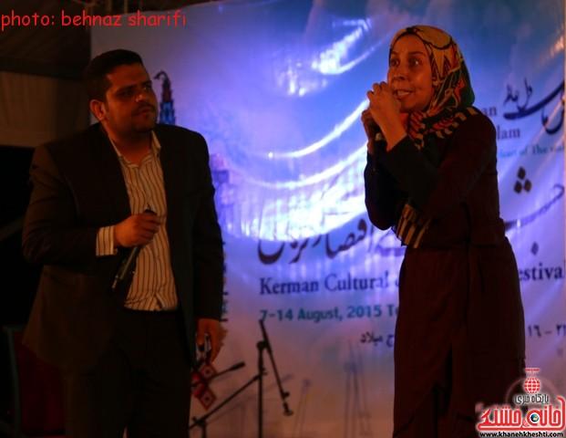 شب فرهنگی هنری رفسنجان_برج  میلاد_جشنواره کرمان_ (۹)