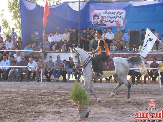 شو اسب سواره شهر صفائیه-رفسنجان-خانه خشتی (۱۴)