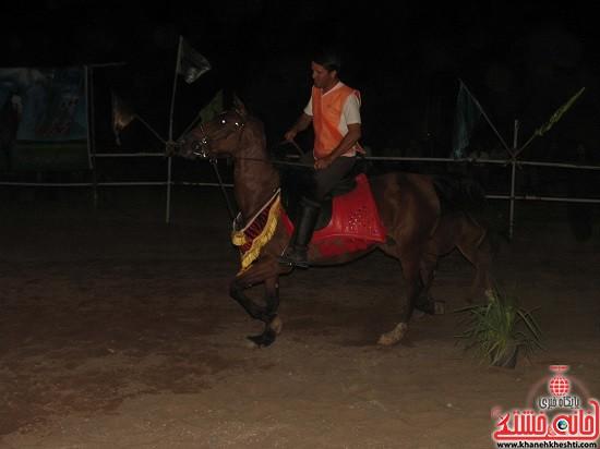 شو اسب سواره شهر صفائیه-رفسنجان-خانه خشتی (۲)