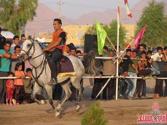 شو اسب سواره شهر صفائیه-رفسنجان-خانه خشتی (۷)