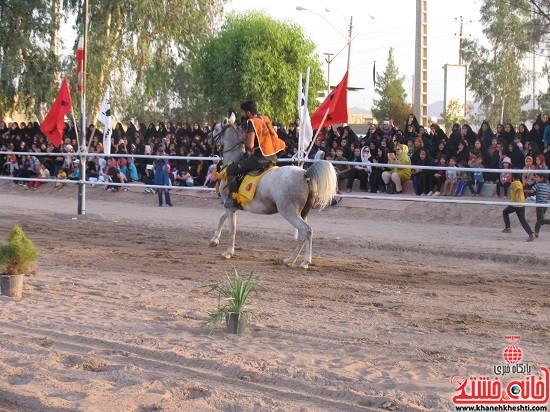 شو اسب سواره شهر صفائیه-رفسنجان-خانه خشتی (۸)