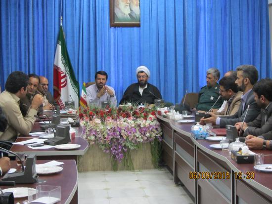 برنامه های هفته دولت در رفسنجان تبیین شد