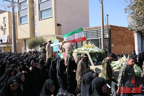 مراسم تشییع پیکر شهید اخوندی-رفسنجان-خانه خشتی (۱۰)