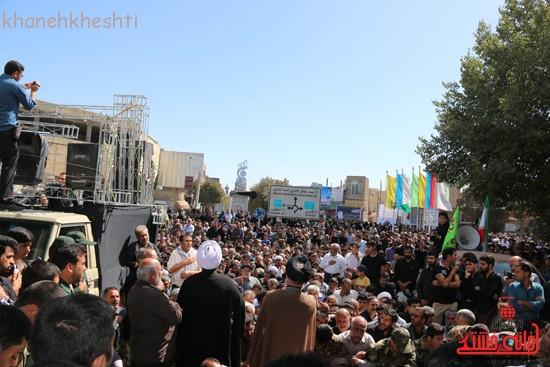 مراسم تشییع پیکر شهید اخوندی-رفسنجان-خانه خشتی (۱۵)