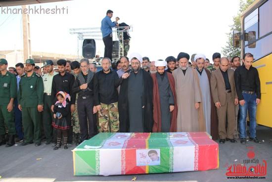 مراسم تشییع پیکر شهید اخوندی-رفسنجان-خانه خشتی (۱۷)