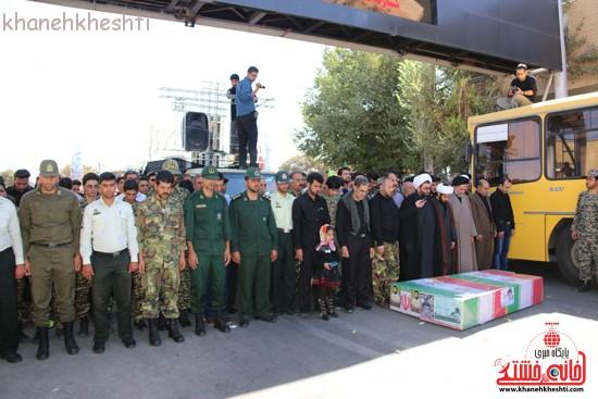 مراسم تشییع پیکر شهید اخوندی-رفسنجان-خانه خشتی (۱۸)