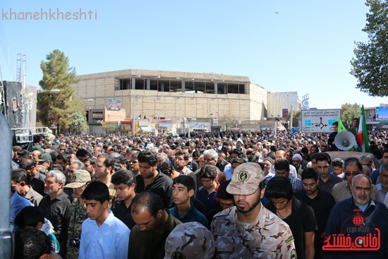 مراسم تشییع پیکر شهید اخوندی-رفسنجان-خانه خشتی (۱۹)