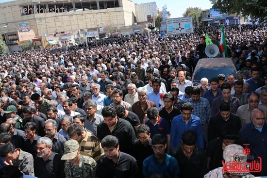 مراسم تشییع پیکر شهید اخوندی-رفسنجان-خانه خشتی (۲۰)