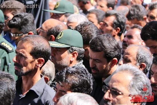 مراسم تشییع پیکر شهید اخوندی-رفسنجان-خانه خشتی (۲۱)