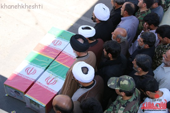 مراسم تشییع پیکر شهید اخوندی-رفسنجان-خانه خشتی (۲۳)